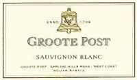 Groote Post Sauvignon Blanc 2001