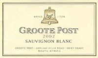 Groote Post Sauvignon Blanc 2002