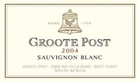 Groote Post Sauvignon Blanc 2004