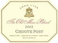 Groote Post The Old Man's Blend Red 2002