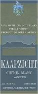Kaapzicht Chenin Blanc 1997 (wooded)