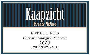 Kaapzicht Estate Red 2003