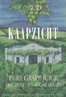 Kaapzicht Grape Juice 1998
