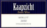Kaapzicht Merlot 2000