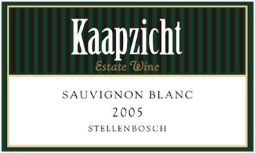 Kaapzicht Sauvignon Blanc 2005
