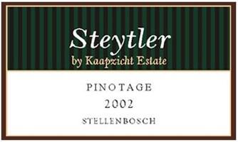 Kaapzicht Steytler Pinotage 2001