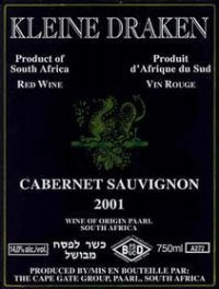 Kleine Draken Cabernet Sauvignon 2001