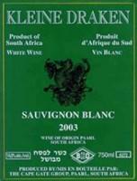 Kleine Draken Sauvignon Blanc 2003