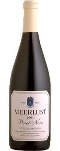 Meerlust Pinot Noir 2004