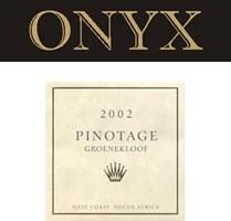 Onyx Pinotage 2002