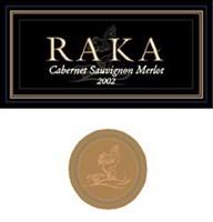 Raka Cabernet Sauvignon/Merlot 2002