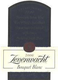 Zevenwacht Bouquet Blanc 2000
