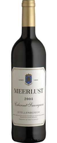 Meerlust Cabernet Sauvignon 2004