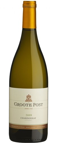 Groote Post Unwooded Chardonnay 2009