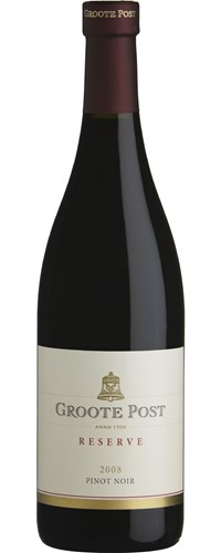 Groote Post Pinot Noir Reserve 2008