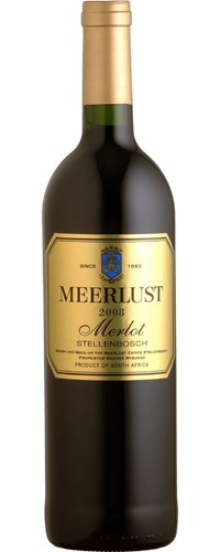 Meerlust Merlot 2008