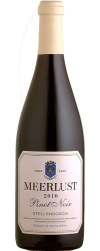Meerlust Pinot Noir 2010