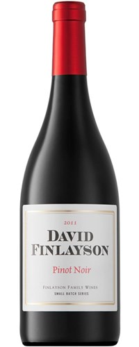David Finlayson Pinot Noir 2011