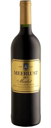 Meerlust Merlot 2012