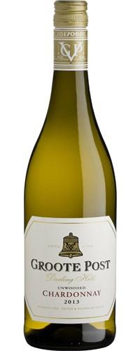 Groote Post Unwooded Chardonnay 2013