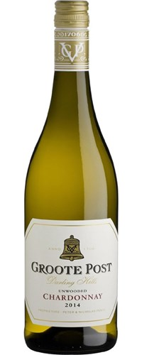 Groote Post Unwooded Chardonnay 2014