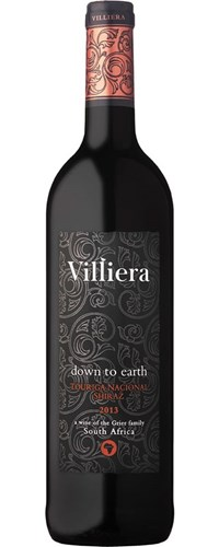 Villiera Down to Earth Red 2013