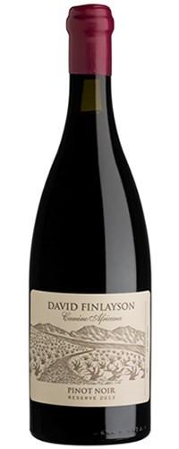 David Finlayson Camino Africana Pinot Noir Reserve 2014