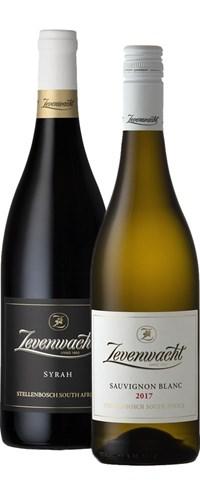 Zevenwacht Sauvignon Blanc & Syrah