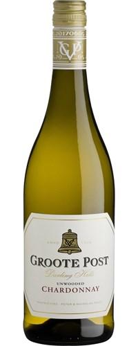 Groote Post Unwooded Chardonnay 2018