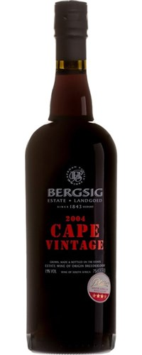 Bergsig Cape Vintage 2004 - SOLD OUT