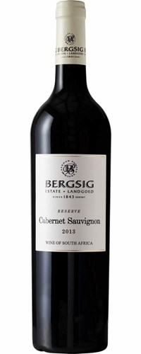 Bergsig Reserve Cabernet Sauvignon 2013