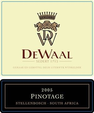 DeWaal Pinotage 2005