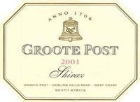 Groote Post Shiraz 2001