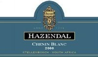 Hazendal Chenin Blanc Wooded 2000