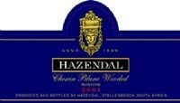 Hazendal Chenin Blanc Wooded Bushvine 2001