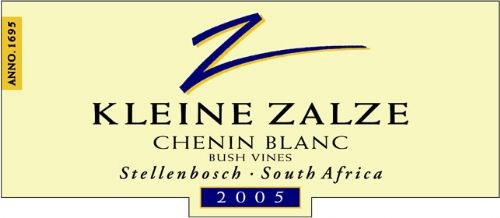 Kleine Zalze Cellar Selection Chenin Blanc Bush Vines 2005