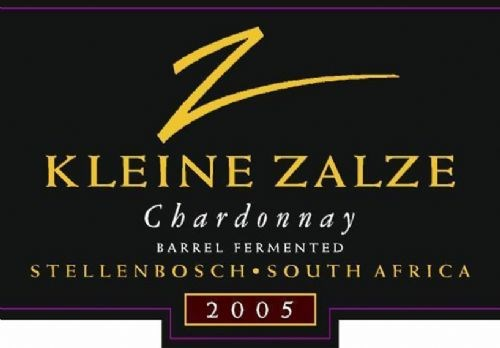 Kleine Zalze Vineyard Selection Barrel Fermented Chardonnay 2005