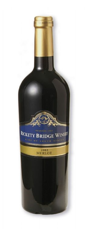 Rickety Bridge Merlot 2003
