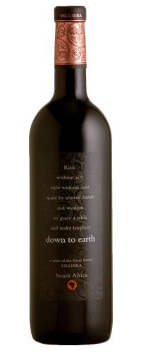Villiera Down to Earth Red 2005