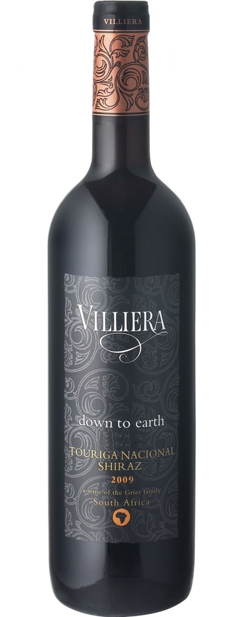 Villiera Down to Earth Red 2009