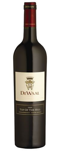 DeWaal Top of the Hill Pinotage 2005