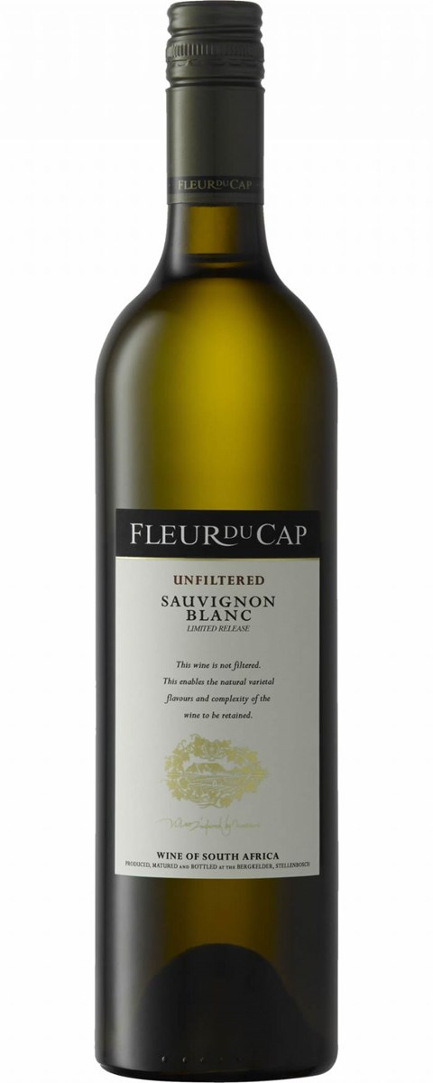 Fleur du Cap Unfiltered Sauvignon Blanc Limited Release 2011 Discontinued