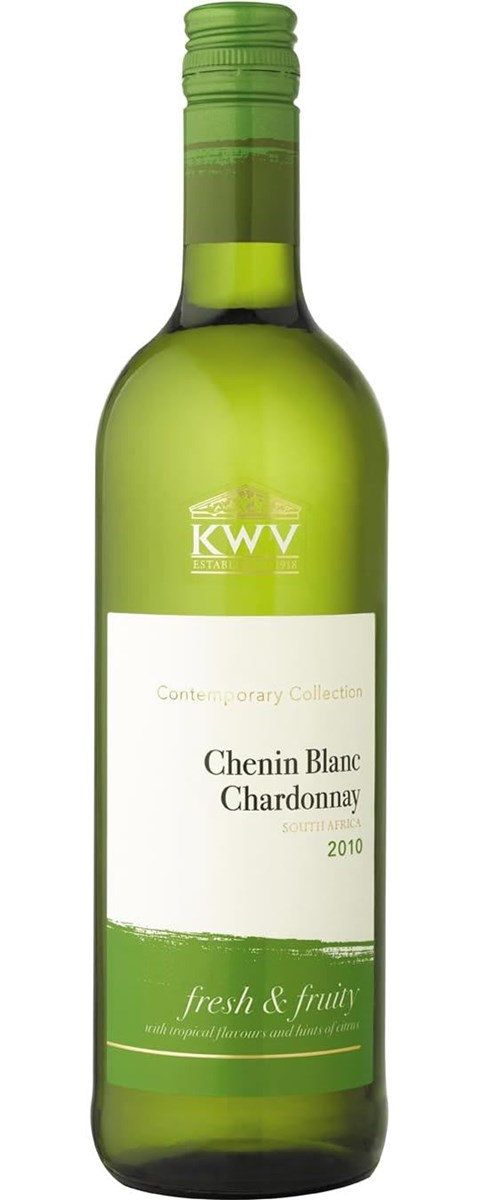 KWV Contemporary Collection Chenin Blanc Chardonnay 2010