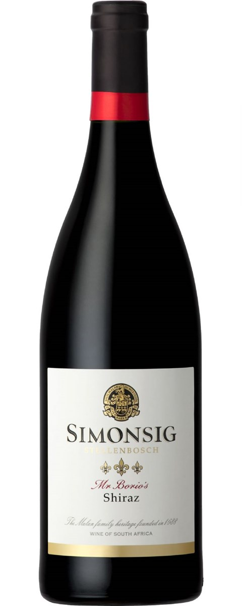 Simonsig Mr Borio's Shiraz 2010