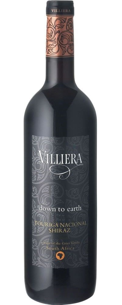 Villiera Down to Earth Red 2010