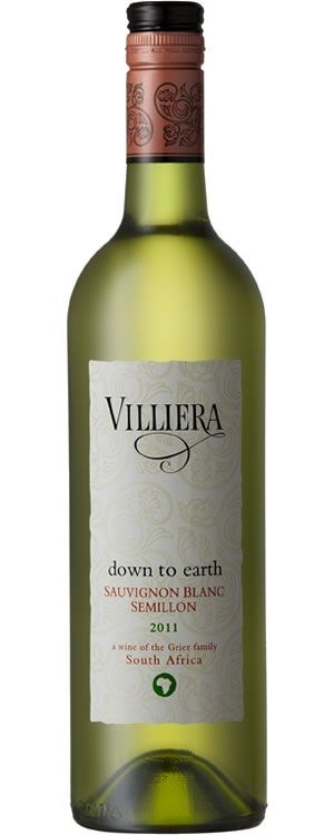 Villiera Down to Earth White 2011