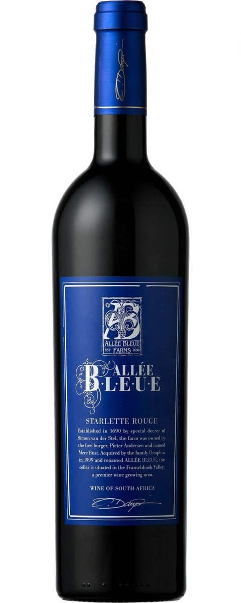 Allee Bleue Starlette Rouge 2010