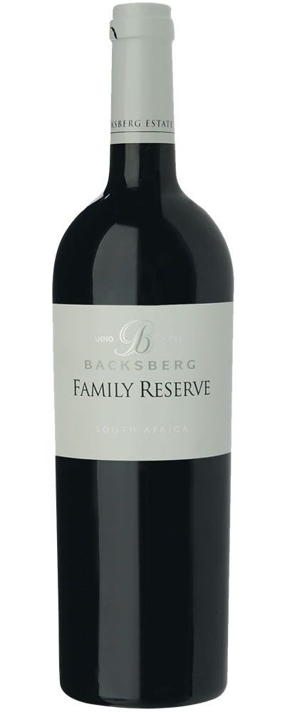 Backsberg Family Reserve Red 2008