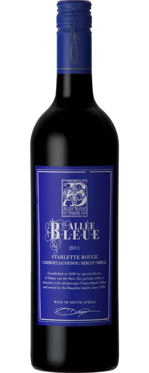 Allee Bleue Starlette Rouge 2011