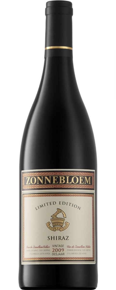 Zonnebloem Limited Edition Shiraz 2009